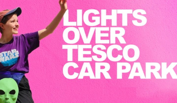 Lights Over Tesco Car Park